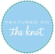 featured on the knot dog weddings