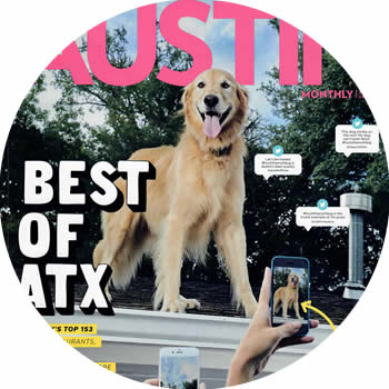 featured in Austin Monthly Dog Services | Wedding Pet Attendant